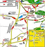 Mapa - ubytování Praha 6 - Pension Větrný mlýn, parkování, wifi zdarma